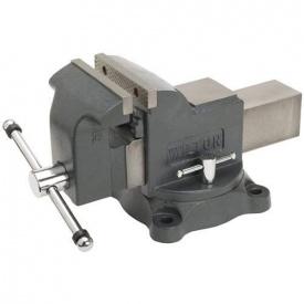 Слесарные тиски Мастерская UTOOL 100 мм (17100)