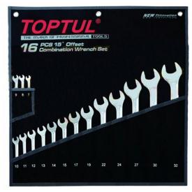 Набор ключей комбинированных TOPTUL GPAX1601