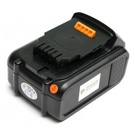 Аккумулятор PowerPlant для шуруповертов и электроинструментов DeWALT GD-DE-18(C), 18 V, 4 Ah, Li-Ion (DV00PT0007)