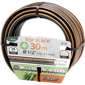 """Шланг поливочный Claber 1/2 """" 30 м Top Black (81873)"""