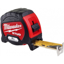 Рулетка магнитная Milwaukee STUD 8 м (4932471627)