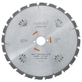 Пильный диск Metabo 210x2,6х30мм HM Z=16FZ (628007000)