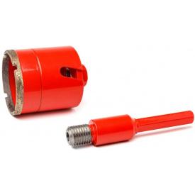 Алмазный подрозетник Super HARD 80 мм SDS+/шестигранник (PLD-80 SDS+/шест)