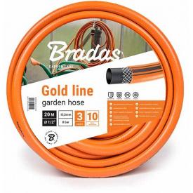 Шланг для полива Bradas GOLD LINE 3/4 дюйм 20м (WGL3/420)