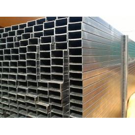 Профильная труба оцинкованная стальная 100х40х2 мм