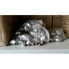 Нержавеющий отвод матовый 19х1,5 мм