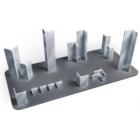 Алюминий уголок толщина 2 мм