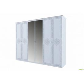 Шафа 6Д (з дзеркалами) Луїза MiroMark