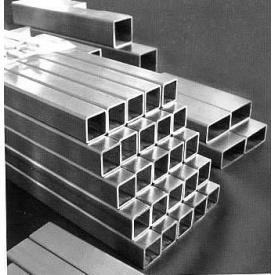 Оцинкованная труба тонкостенная квадратная 50х40х2 мм