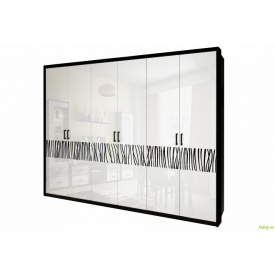 Шафа 6Д (без дзеркал) Терра MiroMark