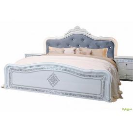 Ліжко 160 Люкс без каркасу + корона Луїза MiroMark