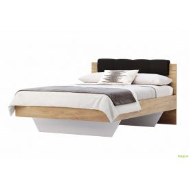Ліжко 140х200, м'яка спинка Луна MiroMark