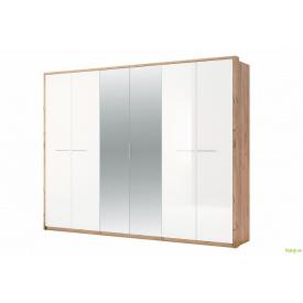 Шафа 6Д із дзеркалами Глянець Нікі MiroMark