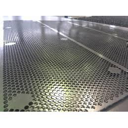 Полированный перфорированный лист PA Rv2-3,5/1/1000x2000 мм