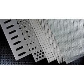 Перфорированый лист нержавеющий полированный PA Qg8-12/1/1000x2000 мм