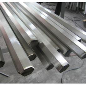 Калиброванный шестигранник металлический 55 мм