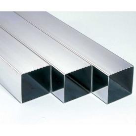 Труба металлическая тонкостенная прямоугольная 80х80 мм