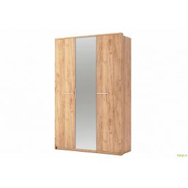 Шафа 3Д із дзеркалом Дуб крафт Нікі MiroMark
