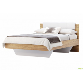 Ліжко 140х200 м'яка спинка Асті MiroMark