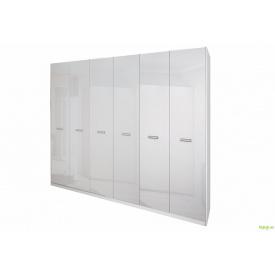 Шафа 6Д (без дзеркал) Белла біла MiroMark