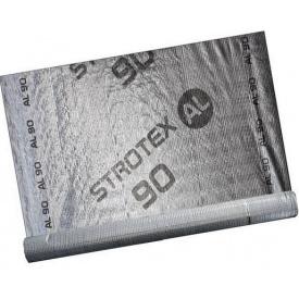 Фольгированная алюмінієва пароізоляція STROTEX AL 90