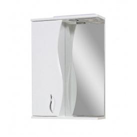 Дзеркало для ванної кімнати Пік БАЗИС 60 ліве з підсвічуванням