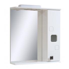 Дзеркало для ванної кімнати КВАДРО 65 праве підсвічування Пік