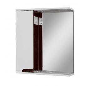 Дзеркало для ванної кімнати СІМПЛ 60 венге ліве LED підсвічування Пік