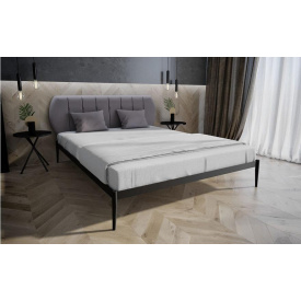 Ліжко двоспальне металеве Бьянка 01 Melbi 120х200