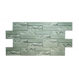 Панели ПВХ Грейс Кирпичик бетонная 0,3 мм 980х480 мм