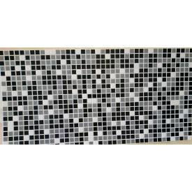 Панели ПВХ Грейс Микс черный 0,3 мм 955х480 мм