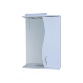Дзеркало для ванної кімнати Пік БАЗИС 60 праве з підсвічуванням