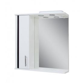 Дзеркало для ванної кімнати ЛІНЕА 65 ліве з підсвічуванням Пік