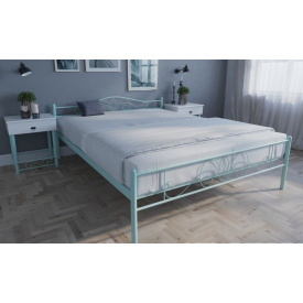 Ліжко двоспальне металеве Лара Люкс Melbi 120х200