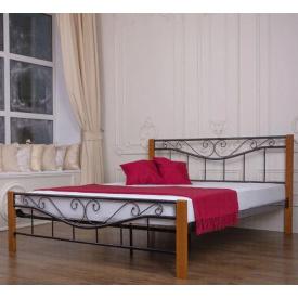 Ліжко двоспальне металеве Емілі Melbi