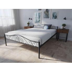 Кровать двуспальная металлическая Элис Люкс Melbi 140х200