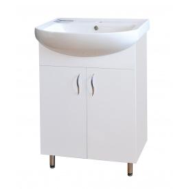 Тумба для ванной комнаты ЭКОНОМ 50 c умывальником ПРОКСИ 50