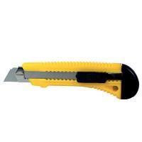Нож строительный пластиковый корпус лезвие 18 мм автоматический замок SIGMA (8213021)