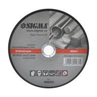 Круг отрезной по металлу и нержавеющей стали 180х1.6х22.2 мм 8500 об/мин SIGMA (1940231)