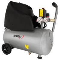 Компресор одноциліндровий безмасляний 1,5 кВт 196 л/хв 8 бар 24 л SIGMA (7042111)