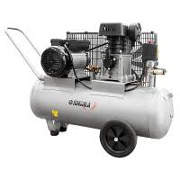 Компресор двоциліндровий пасової 2,5 кВт 335 л / хв 10 бар 50 л (2 крана) SIGMA (7044121)