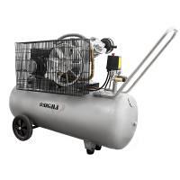 Компресор двоциліндровий пасової 2,5 кВт 396 л/хв 10 бар 100 л (2 крана) SIGMA (7044151)