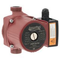 Насос циркуляційний 245 Вт Hmax 8 м Qmax 200 л/хв 180 мм + гайки AQUATICA (774141)