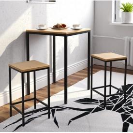 Комплект барний (стіл + стільці) GoodsMetall в стилі Лофт Jefferson