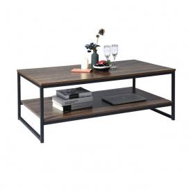 Журнальный кофейный столик GoodsMetall в стиле Лофт 1100х600х400 ЖС153