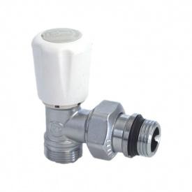 """Радіаторний клапан кутовий термостатичний для подачі 1/2 """"для мідної труби"""