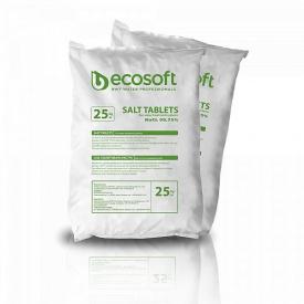 Ecosil таблетированная соль 25 кг