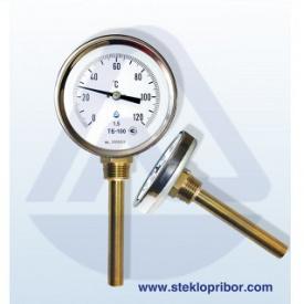 """Термометр ТБ-100-100 0+120 1,5 1/2"""" радиальный"""
