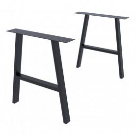 Опора для столу GoodsMetall в стилі Лофт 720х650 мм Андеграунд