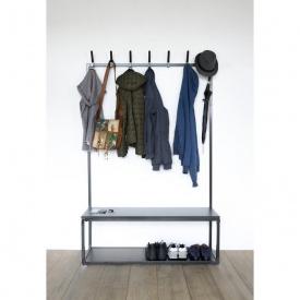Вішалка для одягу GoodsMetall в стилі Лофт 1800х1200х400 мм ВШ126